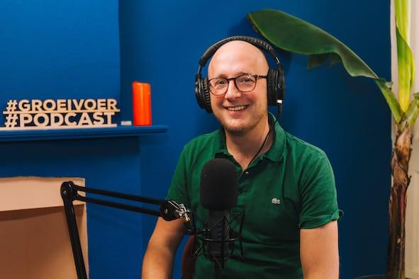 Gerhard te Velde in podcastsetting