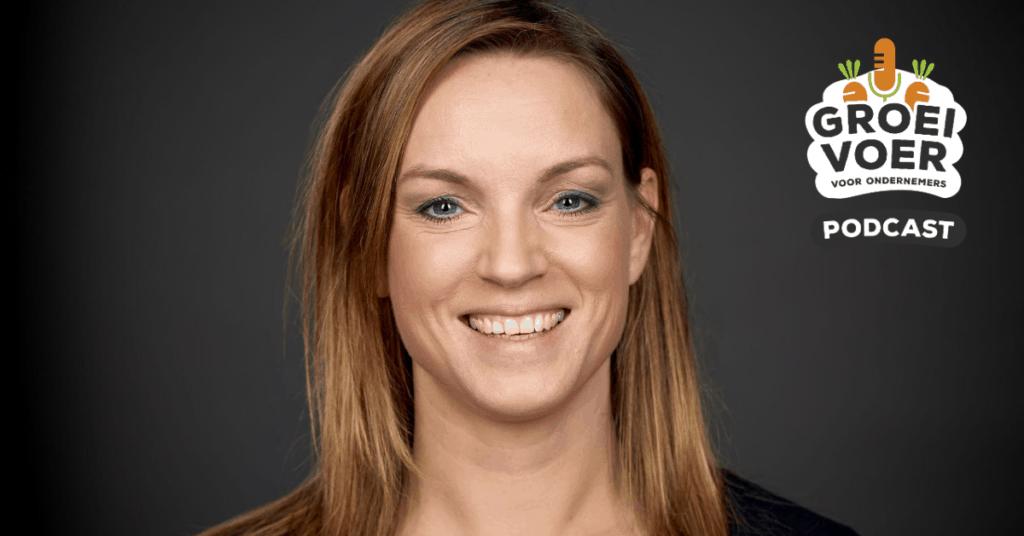 Sjanett de Geus voor de Groeivoer voor Ondernemers Podcast