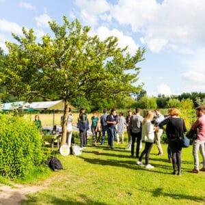 Groeiclub meeting in Tuinderij de Volle Grond