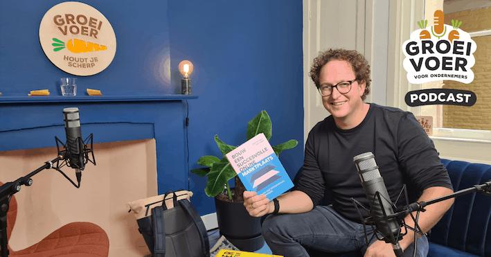 Wout Withagen in de Groeivoer Podcast studio