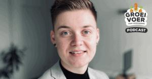 profielfoto Jessica Risch in de Groeivoer podcast voor ondernemers